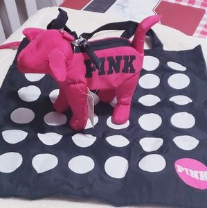 PINK VICTORIA SECRET SMALL DOG